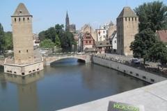 Les tours médiévale - Strasbourg